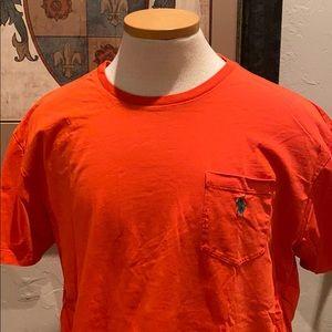 Polo Ralph Lauren short sleeve pocket tee shirt